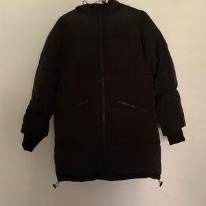Puffy Black Jacket